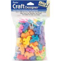 Darice Craft Designer Animal Beads   NOTM158868