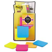 Post-it Notes Super Sticky Full Adhesive Notes, 2 x 2, Assorted Rio de Janeiro Colors, 25-Sheet, 8/Pack MMMF2208SSAU