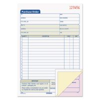 TOPS Purchase Order Book, 5 9/16 x 8 7/16, Three-Part Carbonless, 50 Sets/Book TOP46141