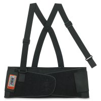 ergodyne ProFlex 1650 Economy Elastic Back Support, X-Large, Black EGO11095