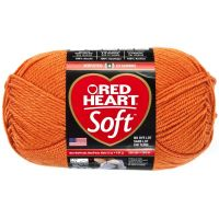 Red Heart Soft Yarn - Tangerine NOTM297896