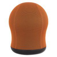 """Safco Zenergy Swivel Ball Chair, 17 1/2"""" Diameter x 23"""" High, Orange Mesh SAF4760OR"""