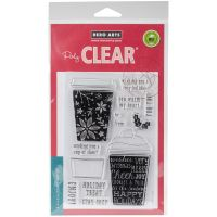 """Hero Arts Clear Stamps 4""""X6"""" NOTM201578"""