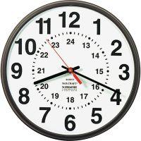 SKILCRAFT 24-Hour Wall Clock NSN3428199