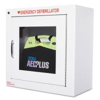 ZOLL AED Wall Cabinet, 17w x 9 1/2d x 17h, White ZOL80000855