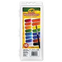 Crayola Watercolors, 16 Assorted Colors BIN530160