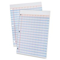 Ampad Heavyweight 3-Hole Punched Data Pads TOP22206
