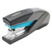 Swingline Optima 25 Reduced Effort Stapler, Full Strip, 25-Sheet Capacity, Gray/Blue SWI66404