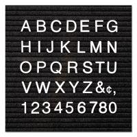 "Quartet Character Sets, Pin, White, 1""h, 300/Set QRT4423"