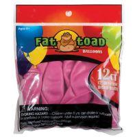 "Fat Toad Latex Balloons 12"" 12/Pkg NOTM239589"