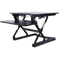Alera AdaptivErgo Sit-Stand Lifting Workstation, 26 3/4 x 31 x 19 5/8, Black ALEAEWR1B