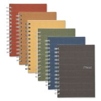 Mead Recycled Notebook, College Ruled, 7 x 5, 80 Sheets, Perforated, Assorted MEA45186