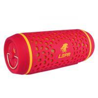 LEPA BTS02 2.0 Speaker System - 8 W RMS - Wireless Speaker(s) - Portable - Battery Rechargeable - Red IGRMZN4446