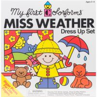 Colorforms(R) Classic Miss Weather Re-Stickable Sticker Set NOTM232854