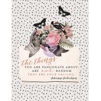 "Amelia Rose Journaling Cards Pad 3""X4"" 36/Pkg NOTM357603"
