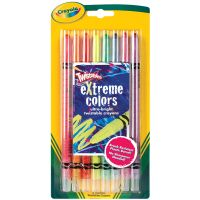 Crayola Twistables Extreme Color Crayons NOTM446968