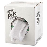 HOSPECO Counter Cloth/Bar Mop, White, Cotton, 12/Bag, 5 Bags/Carton HOS536605DZBX
