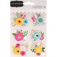 Patio Party Dimensional Stickers NOTM366780