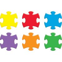 Puzzle Pieces Classic Accents Variety Pack TEPT10906