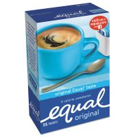 Equal Zero Calorie Sweetener, 1 g Packet, 115/Box OFX20015445
