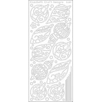 Christmas Ornaments Peel-Off Stickers NOTM124384