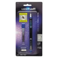 uni-ball KuruToga Mechanical Pencil, 0.5 mm, Black Barrel SAN1751934