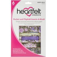 Heartfelft Creations Pocket & Flipfold Inserts NOTM528825