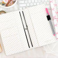 """Freckled Fawn Pocket Traveler's Notebook 9""""X5.75"""" NOTM388566"""