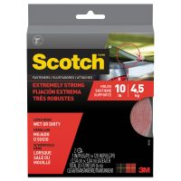 "Scotch Heavy Duty Fasteners, 1"" x 10 ft, Clear MMMRF6760"