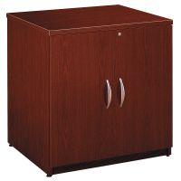 Bush Series C Collection 30W Storage Cabinet, Mahogany BSHWC36796A