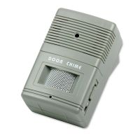 Tatco Visitor Arrival/Departure Chime, Battery Operated, 2-3/4w x 2d x 4-1/4h, Gray TCO15300
