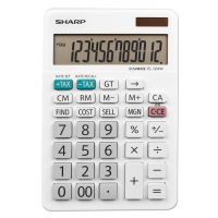 Sharp EL-334W Large Desktop Calculator, 12-Digit LCD SHREL334W