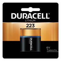 Duracell Ultra High Power Lithium Battery, 223, 6V, 1/EA DURDL223ABPK