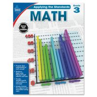 Carson-Dellosa Grade 2 Applying the Standards Math Workbk Education Printed Book for Mathematics CDP104849