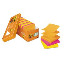 Post-it Pop-up Notes Super Sticky Pop-up 3 x 3 Note Refill, Rio de Janeiro, 90 Notes/Pad, 18 Pads/Pack MMMR33018SSAUCP