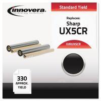 Innovera Compatible UX5CR Thermal Transfer Print Cartridge, Black IVRUX5CR