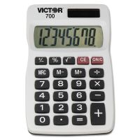 Victor 700 Pocket Calculator, 8-Digit LCD VCT700