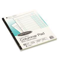 Wilson Jones Accounting Pad, Two Eight-Unit Columns, 8-1/2 x 11, 50-Sheet Pad WLJG7202A