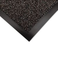 Crown Cross-Over Indoor/Outdoor Wiper/Scraper Mat, Olefin/Poly, 48 x 72, Brown CWNCS0046BR