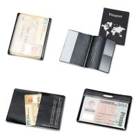 Tarifold, Inc. Hidentity Personal Protection Assortment Set, 4 Holders, Clear/Black TFIH11214