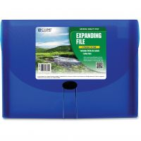 C-Line Specialty Expanding Files, Letter, 7-Pocket, Blue CLI48305
