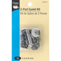"Dritz 2-Part Eyelet Kit W/Tools 1/4"" 15/Pkg NOTM090298"