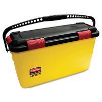 Rubbermaid Commercial HYGEN HYGEN Charging Bucket, Yellow RCPQ95088YW