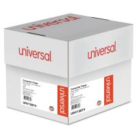 Universal Multicolor Paper, 4-Part Carbonless, 15lb, 9-1/2 x 11, Perforated, 900 Sheets UNV15874