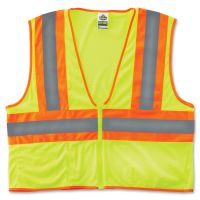 GloWear Class 2 Two-tone Lime Vest EGO21297