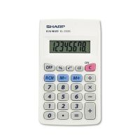 Sharp EL233SB Pocket Calculator, 8-Digit LCD SHREL233SB