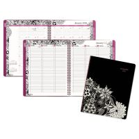 AT-A-GLANCE Floradoodle Professional Weekly/Monthly Planner, 9 3/8 x 11 3/8 AAG589905