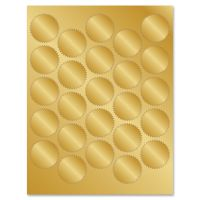 Geographics Gold Foil Seals GEO47839