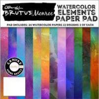 "Brutus Monroe Single-Sided Paper Pad 6""X6"" 24/Pkg NOTM022505"