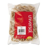 Universal Rubber Bands, Size 117, 7 x 1/8, 50 Bands/1/4lb Pack UNV04117